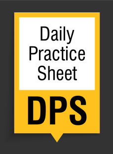 Daily Practice Sheet